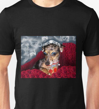 Ooh, La La, You Handsome Cur! Wooof!!! Unisex T-Shirt