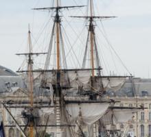 French Fregate Hermione replica Sticker
