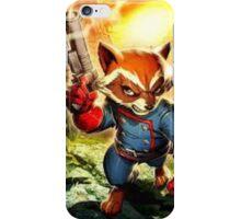 Rocket Raccoon iPhone Case/Skin