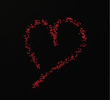 Glitter heart by franceslewis