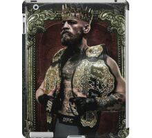 Conor mcgregor the king of UFC iPad Case/Skin