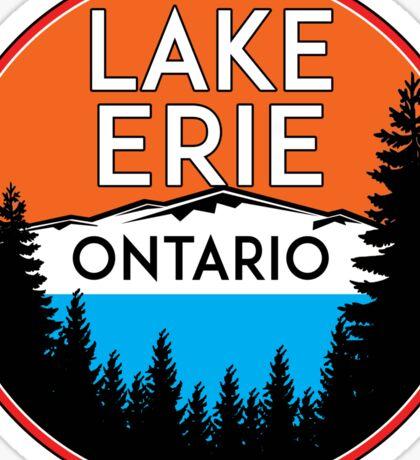 LAKE ERIE ONTARIO CANADA BOATING FISHING GREAT LAKES Sticker