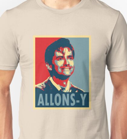 ALLONS-Y Unisex T-Shirt