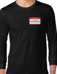Hello, My Name Is Inigo Montoya - Red Long Sleeve T-Shirt