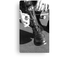 These boots were made for... Canvas Print