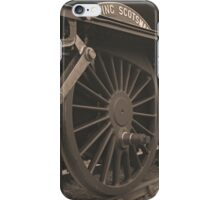 Flying Scotsman iPhone Case/Skin