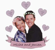 Misha and Jensen by wowtennant