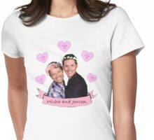 Misha and Jensen Womens Fitted T-Shirt