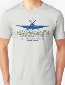 Mustang's Bar and Grill Unisex T-Shirt