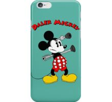 Dalek Mickey (plus Text) iPhone Case/Skin