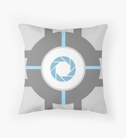 Aperture Cube Throw Pillow