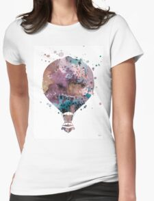 Hot Air Balloon 2 Womens Fitted T-Shirt