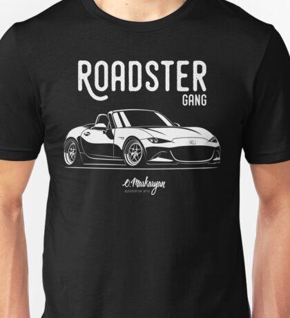 Roadster gang. Mazda MX5 Miata (ND) Unisex T-Shirt