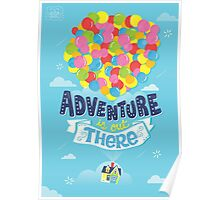 Adventure is out there Poster