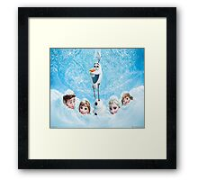Disneys Frozen Framed Print