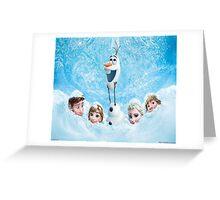 Disneys Frozen Greeting Card