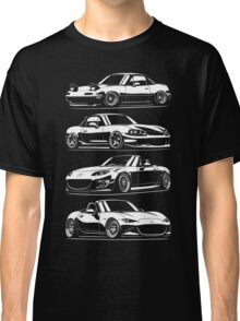 Generations. Mazda MX5 Miata Classic T-Shirt