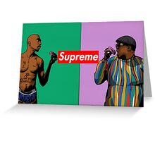 Tupac/Biggie Greeting Card
