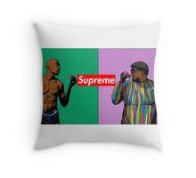 Tupac/Biggie Throw Pillow