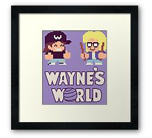 Waynes World TAITO Framed Print
