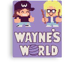 Waynes World TAITO Canvas Print