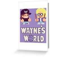 Waynes World TAITO Greeting Card