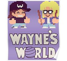 Waynes World TAITO Poster