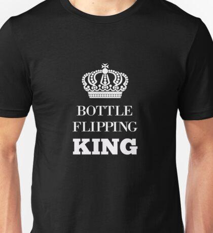 Water Bottle Flip Challenge Bottle Flipping King t shirt Unisex T-Shirt