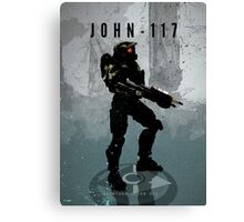 Legends of Gaming - John 117 Canvas Print