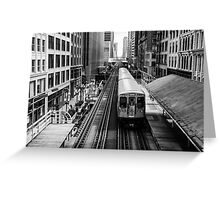 Chicago way Greeting Card
