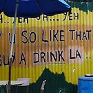 Singlish on Pulau Ubin by sailgirl