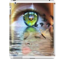 The eye of the beholder iPad Case/Skin