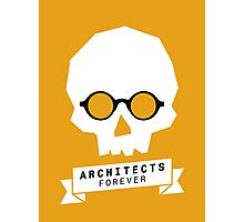 Architects Forever Architecture Skull T-Shirt Photographic Print