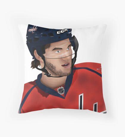 Tom Wilson Washington Capitals Throw Pillow