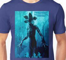 Stranger Things Poster  (blue Nightmare) Unisex T-Shirt