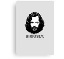 Siriusly Canvas Print
