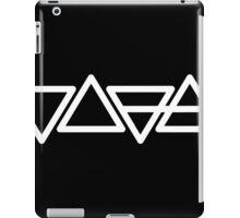 Earth Air Fire Water Mono iPad Case/Skin