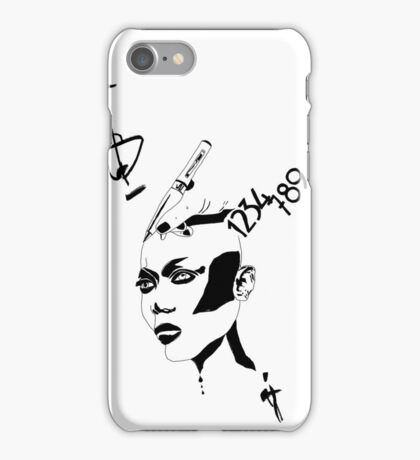 Strong Woman and Symbols iPhone Case/Skin