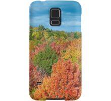 Cut River Autumn Color Samsung Galaxy Case/Skin