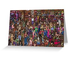 Music stars Greeting Card