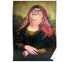 peter griffin as mona lisa Poster