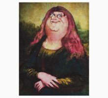 peter griffin as mona lisa Kids Tee