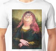 peter griffin as mona lisa Unisex T-Shirt