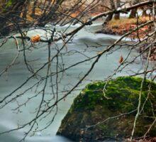 Vouraikos river - Achaia Sticker