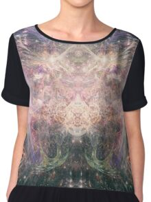 Abstract Psychedelic Art Chiffon Top