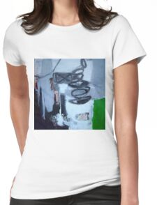 Decay of Narrative Womens Fitted T-Shirt