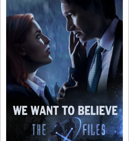 The X-files Poster s11 Sticker