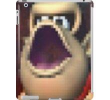 Cropped Donkey Kong Tee iPad Case/Skin