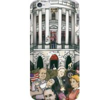 Us presidents at the white house iPhone Case/Skin
