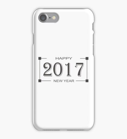 Happy New Year 2017 iPhone Case/Skin
